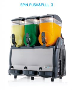 Výrobník ledové tříště Spin 3x12 litrů