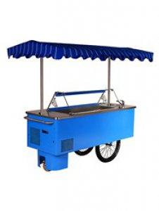 Pojídzné kolo pro prodej zmrzliny Riksha