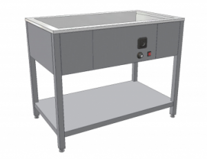 gastro vybavení - Výdejní ohřevný stůl