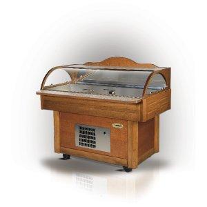 gastro vybavení - Pojízdný bufet pro prezentaci čerstvých ryb Buffet Fish